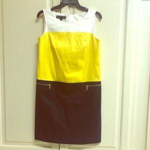 Preppy Color Blocked JNY Dress
